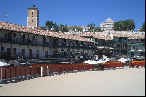 The full plaza or square
