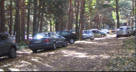Cercedilla car parking