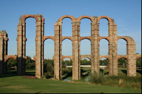 Merida Spain Aquaduct