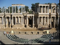 Roman Ampitheatre, Merida Spain