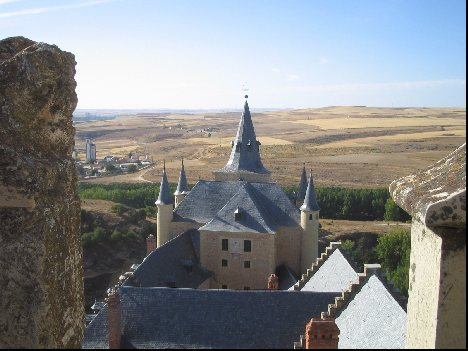 Segovia Castle - View from the ramparts