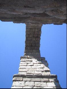 Aqueduct stonework