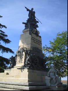 Military Monument in Segovia