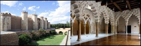 Zaragozas Aljaferia palace