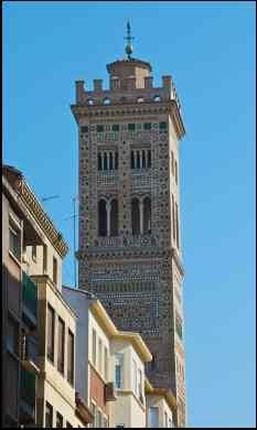Zaragozas Mudejar belltower
