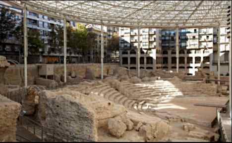 Zargozas Roman theater