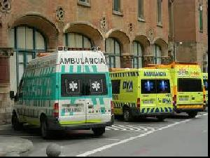 A multitude of different Ambulances in Catalunya