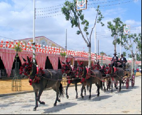 Fiestas in Seville - La feria de Sevilla