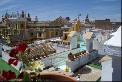 Seville's rooftop gardens