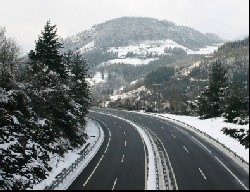 Spains mountain roads require chains in winter